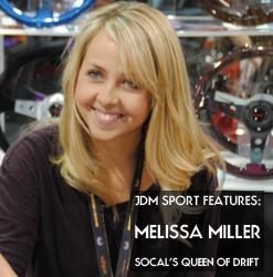 JDM Sport Features: Melissa Miller